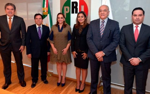 Ruiz Massieu anuncia nombramientos en el CEN del PRI - Foto de @PrensaCENPRI