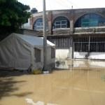 Tormenta tropical 'Vicente' causa daños severos en Oaxaca - Foto de Quadratín