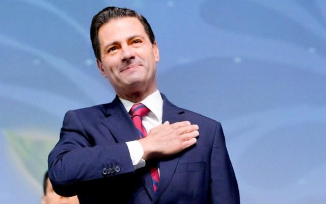 Designan a Peña Nieto consejero político del PRI - Peña Nieto en Foro Agroalimentario. Foto de @PresidenciaMX
