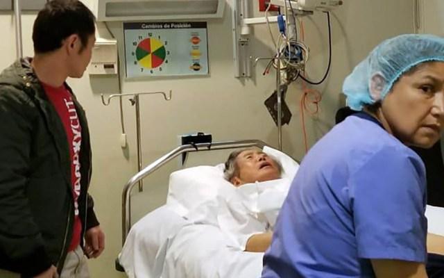 Fujimori queda bajo custodia policial en clínica de Lima - Alberto Fujimori se encuentra en un hospital de Lima en calidad de detenido. Foto de AFP