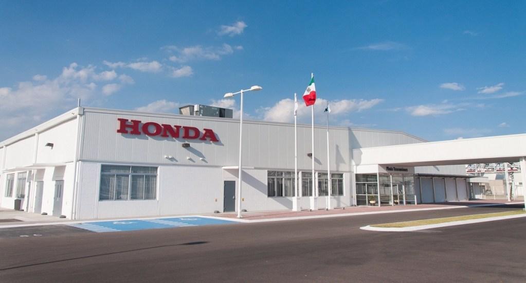 Honda suspenderá su producción en planta de Celaya, Guanajuato - Planta de Honda en Celaya. Foto de Internet