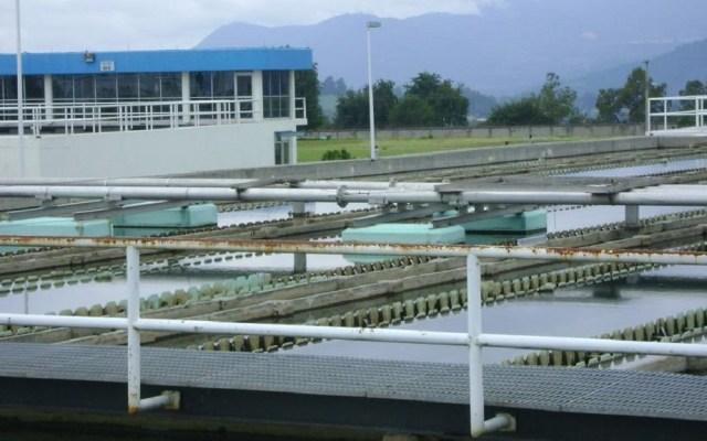 Inicia corte de agua en la Ciudad de México - Planta Potabilizadora Los Berros, ubicada en el Edomex. Foto de SIAPSagua