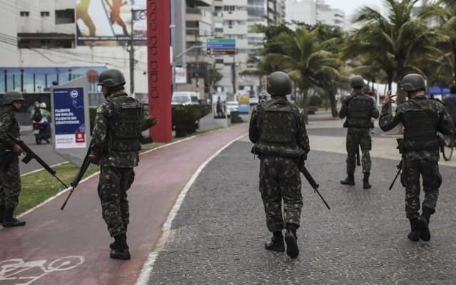 Elecciones en Brasil serán vigiladas por 280 mil efectivos - Foto de EFE
