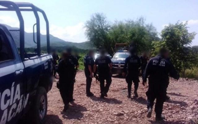 Hallan muerto a custodio desaparecido en Michoacán - Policía de Michoacán. Foto de El Universal