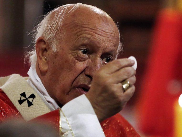 El cardenal es el religioso de más alto rango investigado por autoridades chilenas