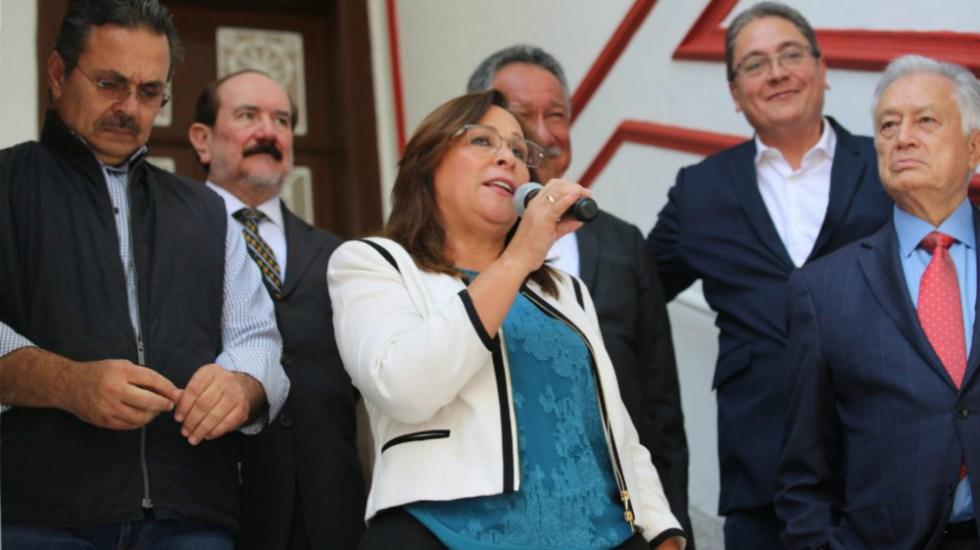 Absurda calificación de Fitch Ratings a Pemex: Rocío Nahle - Foto de LopezObrador.org.mx