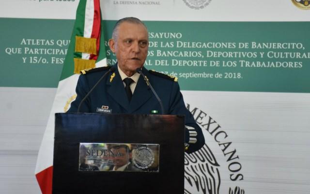 """Designación de próximo titular de Sedena es """"excelente"""": Cienfuegos - Foto de Sedena"""