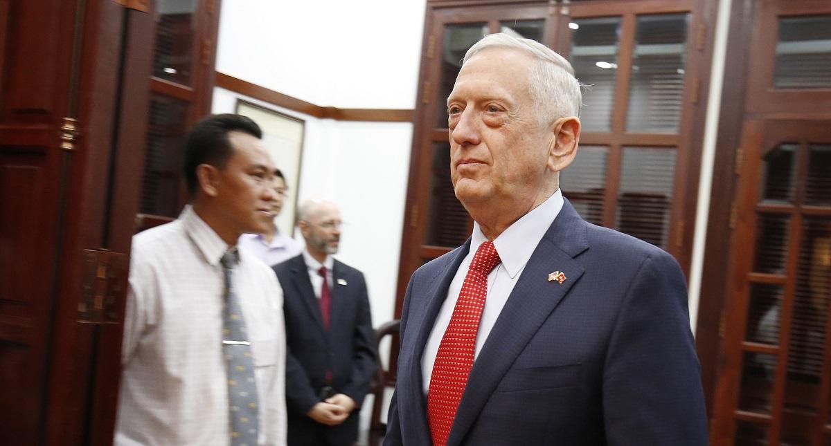 Secretario de Defensa de EE.UU. Foto de AFP / Kham