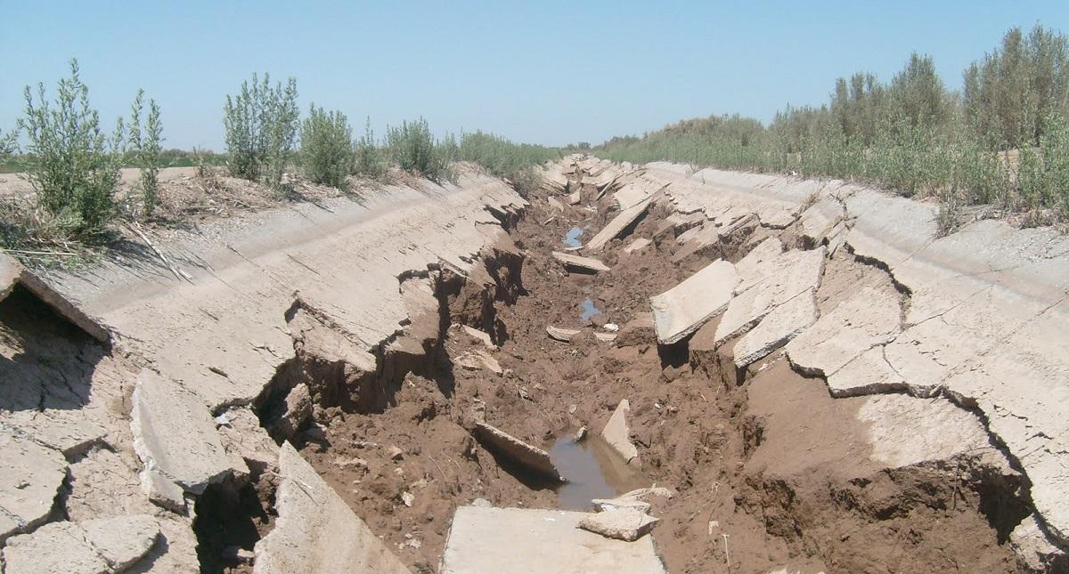 Daños en el suelo por terremoto de El Mayor-Cucapah. Foto de Internet