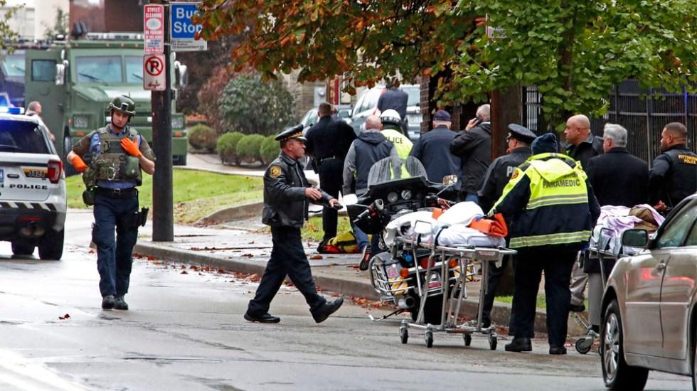 Ataque a sinagoga dejó al menos 11 muertos en Pittsburgh - tiroteo sinagoga Pittsburgh