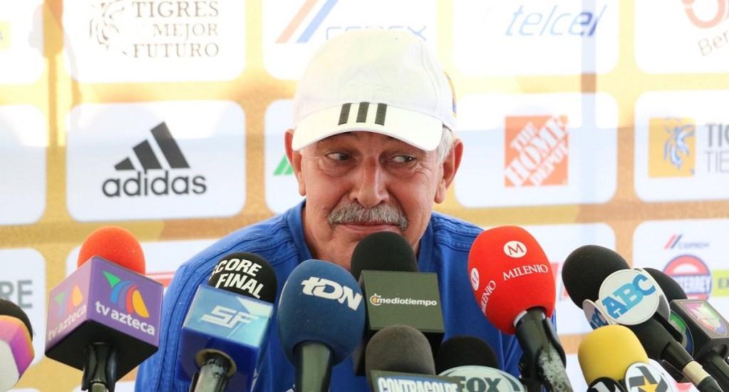 'Tuca' Ferretti va con Rayados en Final de la Copa MX. Noticias en tiempo real