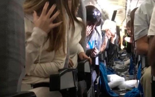 #Video Turbulencia deja 15 heridos durante vuelo de Aerolíneas Argentinas - Foto de @diego_domi