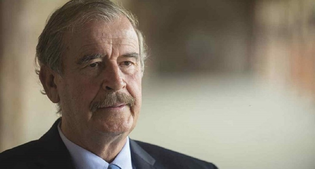 "#Video Fox critica a AMLO por mala pronunciación de ""fracking"" - Vicente Fox se burló de AMLO por pronunciación de fracking. Foto de internet"