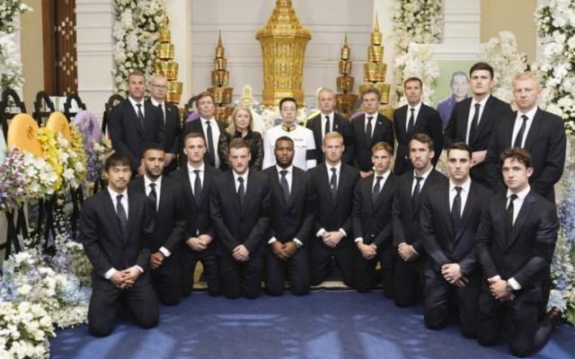 El Leicester City despide a su dueño, Vichai Srivaddhanaprabha - Leicester city acude al funeral de su dueño