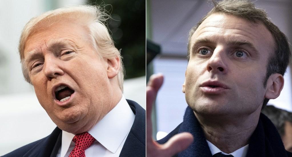 Francia pide a Donald Trump no inmiscuirse en su política interna - Francia pide a donald trump no inmiscuirse en su política