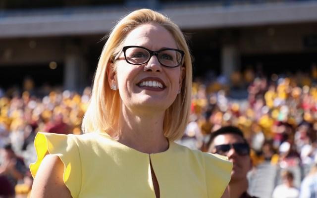 Tras recuento, Kyrsten Sinema gana escaño en el Senado de EE.UU. por Arizona - Foto de AFP