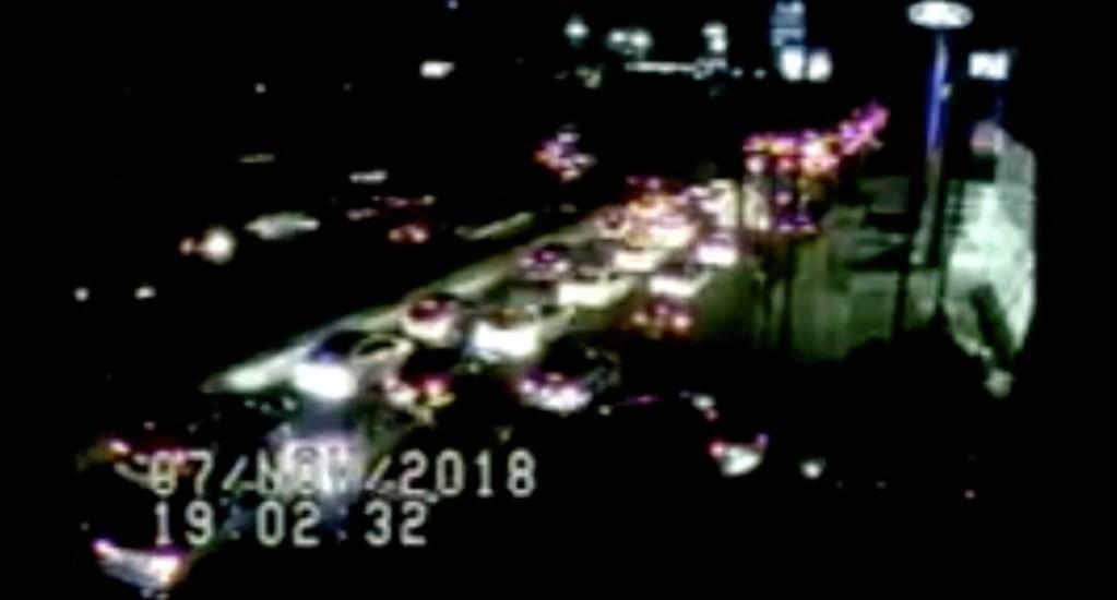 Tráiler impacta vehículos en la México-Toluca. Noticias en tiempo real