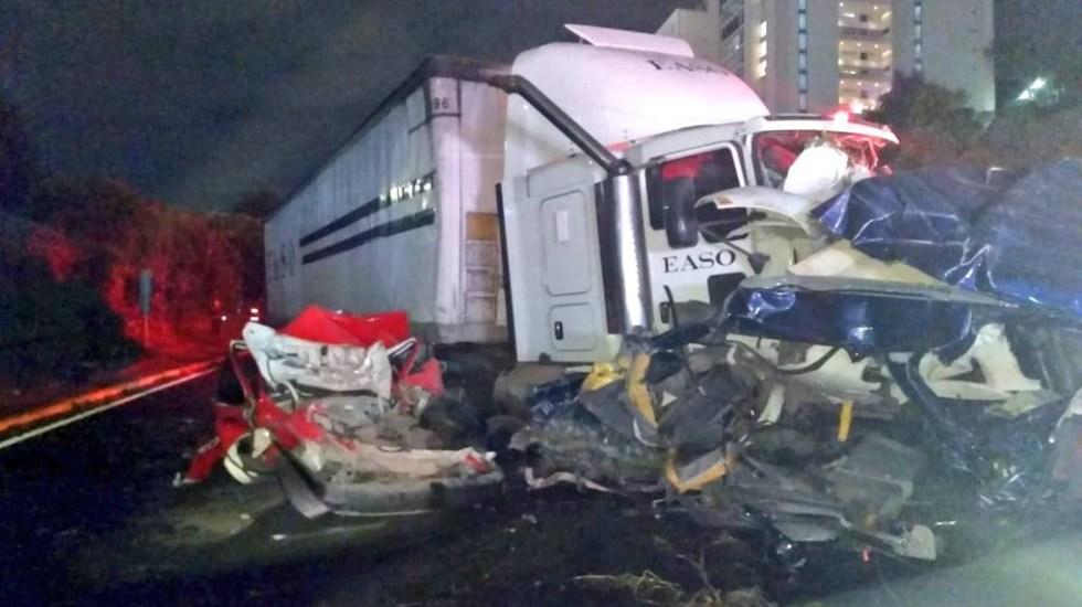 Aumenta a 10 cifra de muertos por accidente en Santa Fe