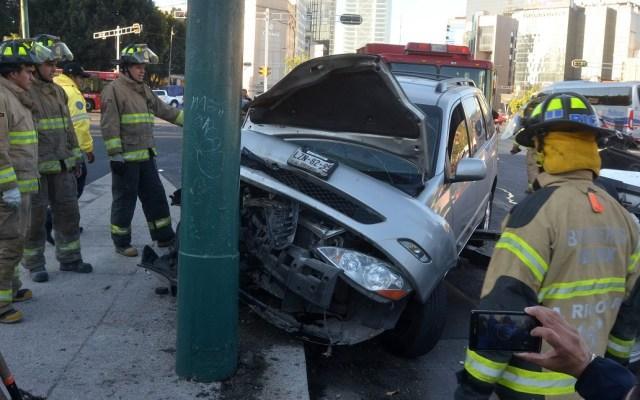 Muertes en hechos viales aumentan pese a disminución de accidentes - Accidente vial en México. Foto de Internet