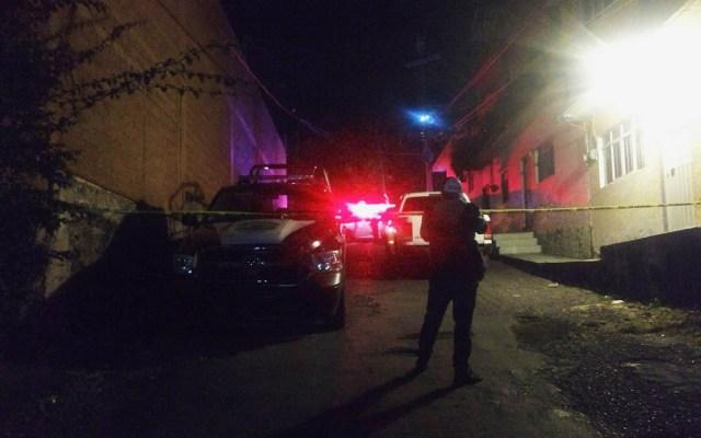Acribillan a comandante de la Policía de Morelos - Escena del crimen de comandante de Morelos. Foto de Alex Perutzi