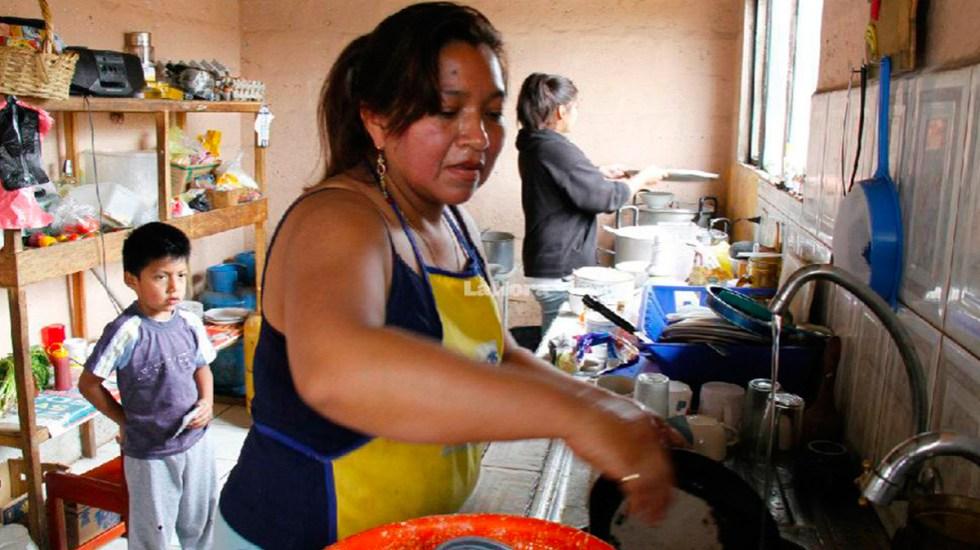 Actividades en el hogar deben considerarse como contribución económica: SCJN - Foto de Twitter