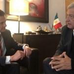 AMLO invita a comer a Peña Nieto a su casa