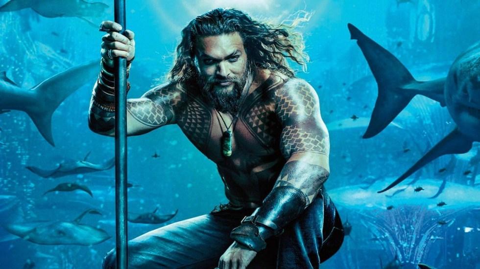 'Aquaman' continúa dominando las taquillas de Norteamérica - Aquaman es la película más taquillera del fin de semana