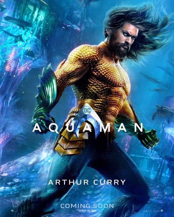 Arthur Curry. Foto de Warner Bros Pictures