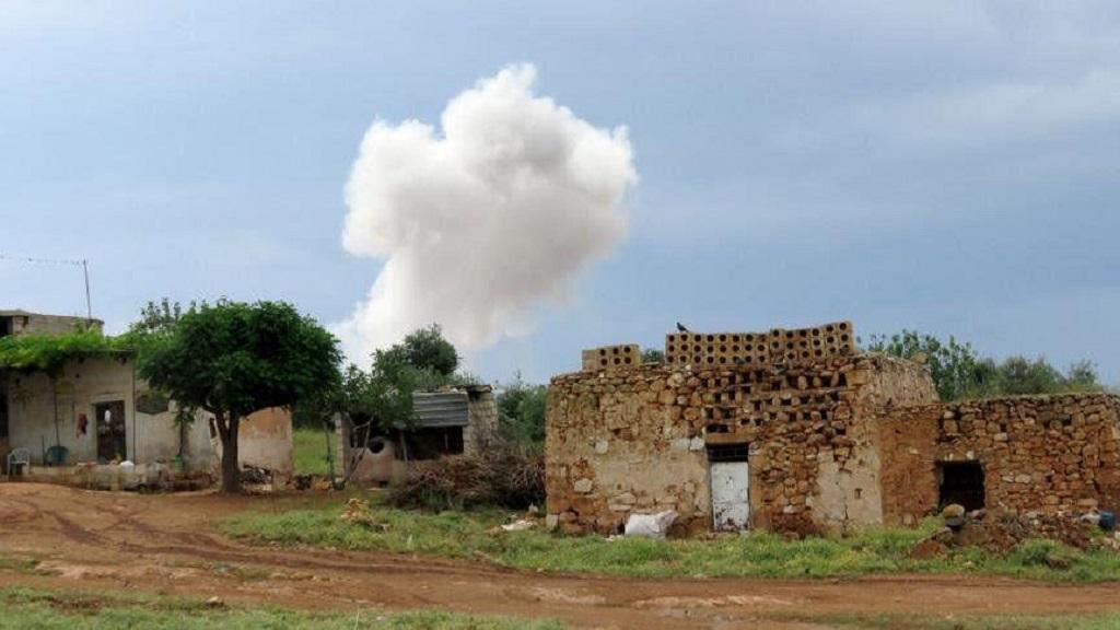 Ataque en Idlib. Foto de Internet