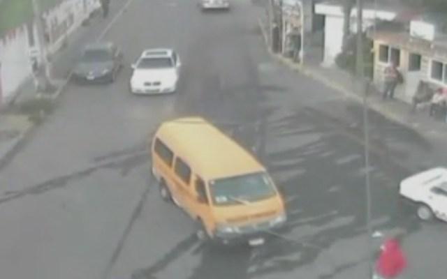 #Video Atropellan a hombre en el Estado de México - Foto de Noticieros Televisa