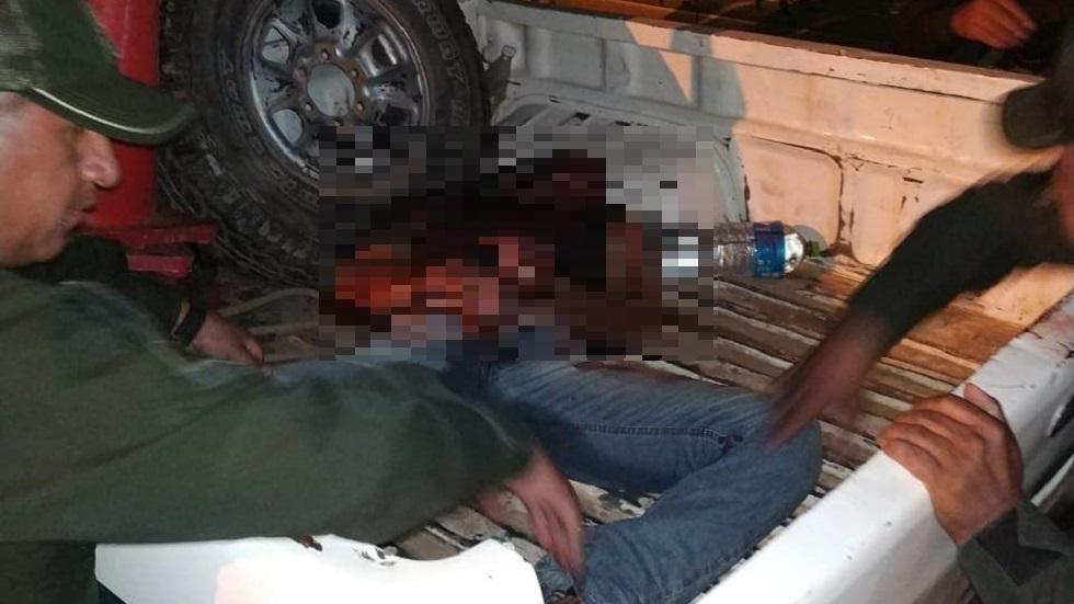 Autoridades de Santa Cruz levantaron el cadáver del brasileño. foto de Twitter