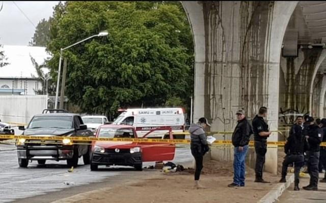 Persecución en Guadalajara deja un muerto - Foto de El Informador
