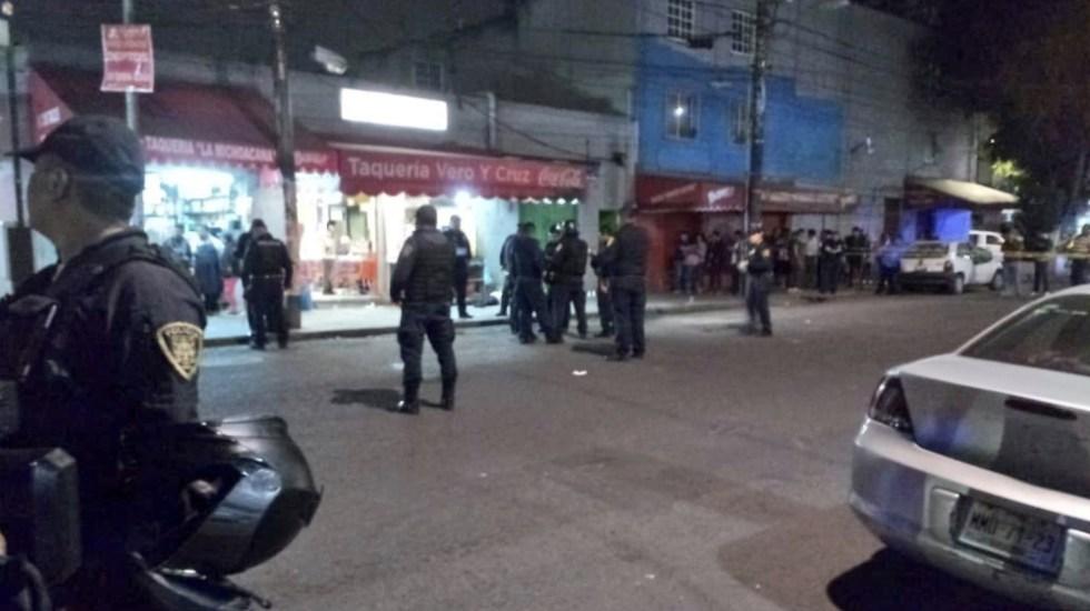Un muerto y cinco heridos tras balacera en taquería de la Ciudad de México - Foto de @MrElDiablo8
