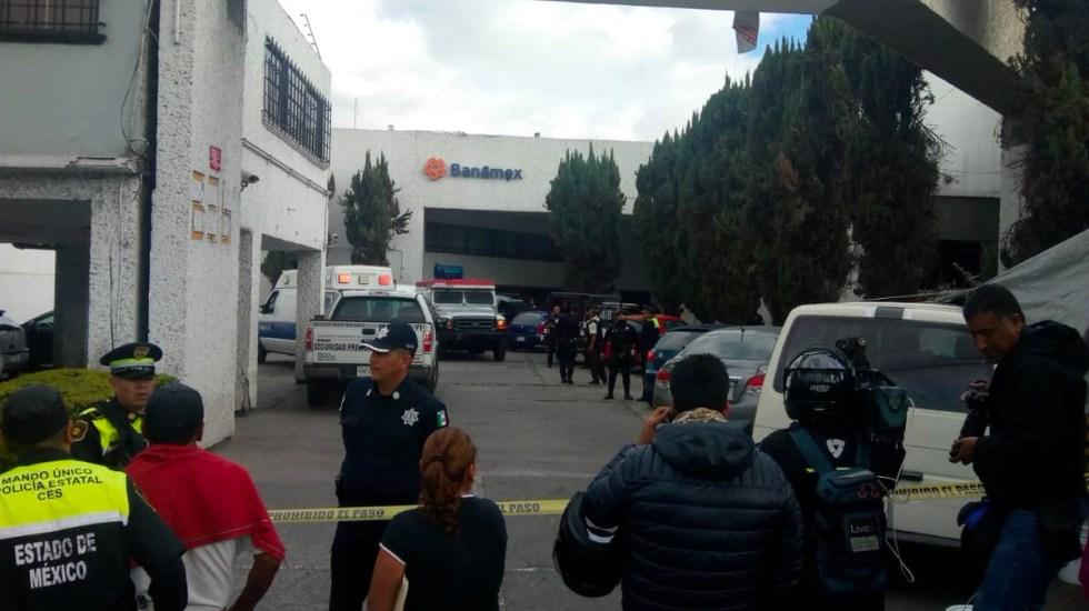 Robo millonario en Naucalpan deja a un custodio muerto y seis heridos - Robo millonario en Naucalpan deja a un custodio muerto y seis heridos