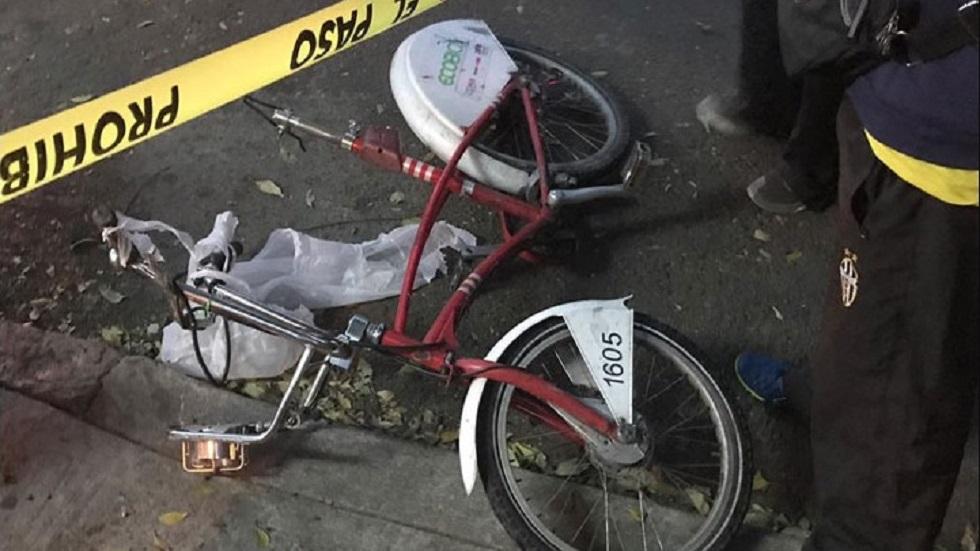 Usuario de Ecobici había discutido con el conductor momentos antes. Foto de Noticieros Televisa