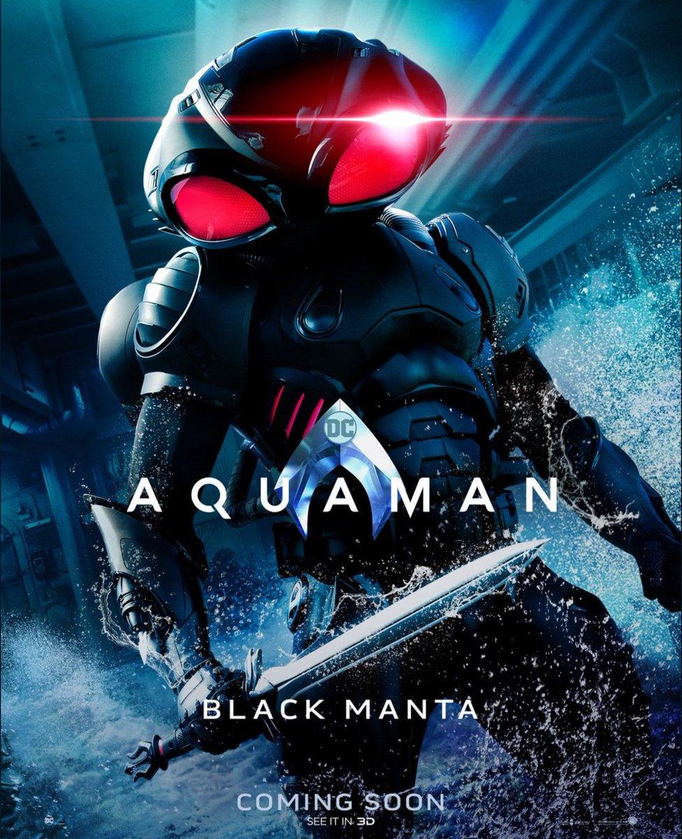 Black Manta. Foto de Warner Bros Pictures