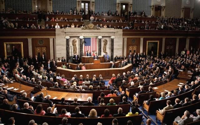 Cámara baja de EE.UU. aprueba presupuesto para evitar cierre de gobierno - Cámara de Representantes Estados Unidos. Foto de Internet