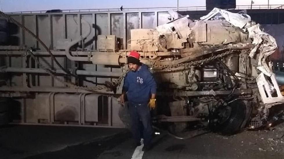 Cierran la autopista México-Puebla por accidente vial. Noticias en tiempo real