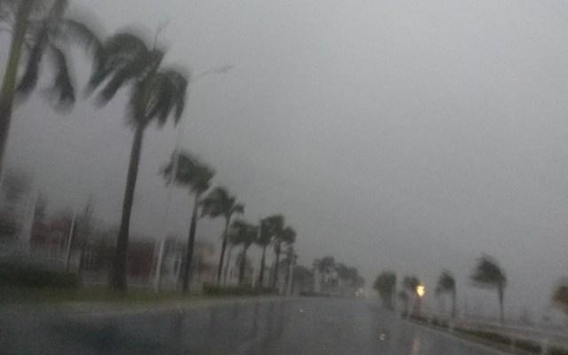 Suspenden clases en Campeche por mal clima - Se esperan tormentas intensas en Campeche. Foto de @VK_legacy