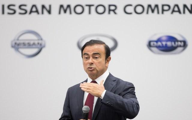 Carlos Ghosn podría enfrentar otro cargo criminal - Carlos Ghosn de Nissan. Foto de AFP / Geoff Robins