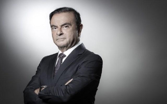 Detienen a presidente de Nissan-Renault por fraude - Carlos Ghosn. Foto de JOEL SAGET / AFP