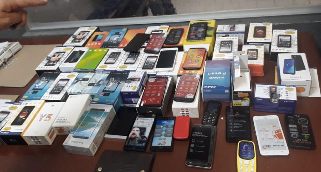 Tres alcaldías acaparan el 46 por ciento de robos de celulares - celulares robados