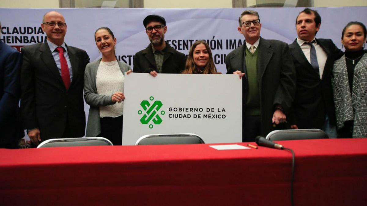 Sheinbaum presenta nueva imagen de la Ciudad de México