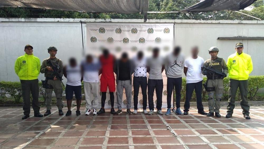 Desarticulan en Colombia red ligada a 'El Mayo' Zambada - Foto de @PoliciaAntiNar