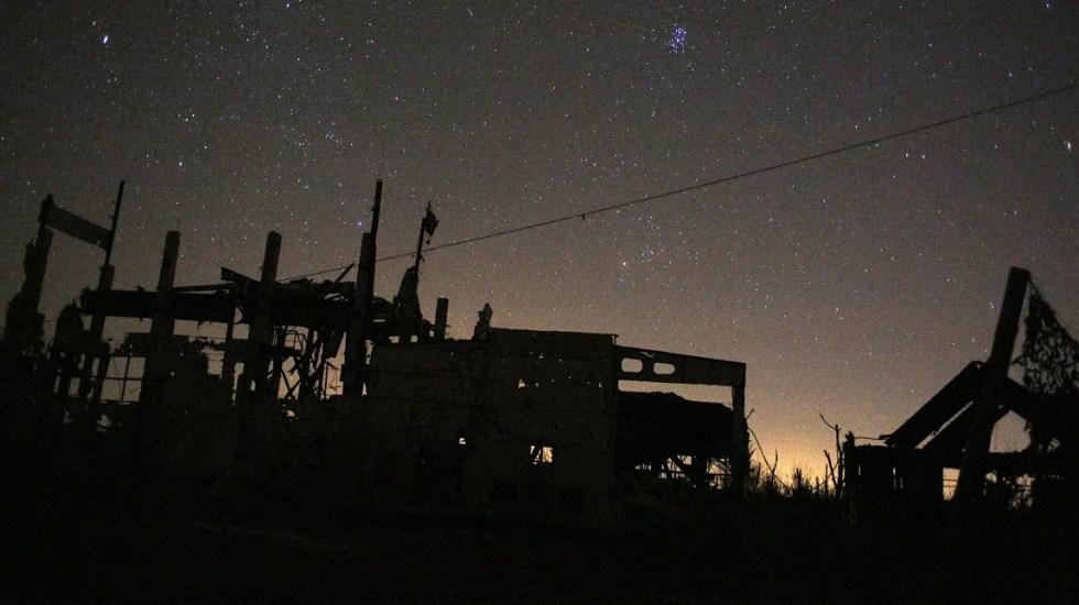 EE.UU. sanciona a rusos por conflicto al este de Ucrania - Mina de carbón destruida en la zona de conflicto de Ucrania. Foto de AFP / Anatolii Stepanov