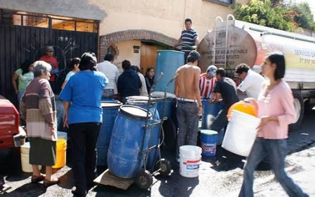 Miércoles y jueves, los días más críticos del corte de agua - Aplicarán nuevamente el Operativo de Abastecimiento de Agua en la Cuauhtémoc. Foto de Internet
