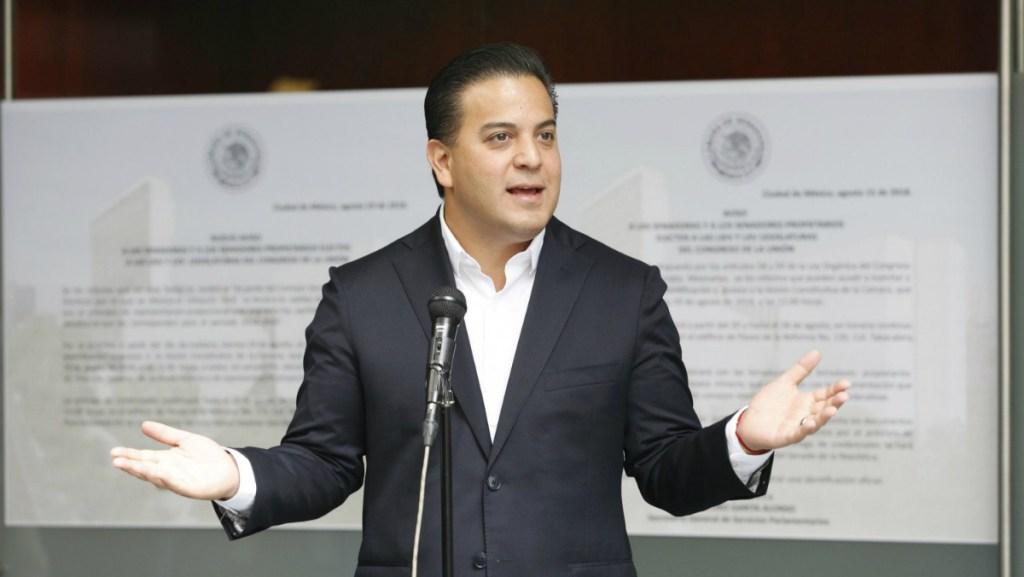Damián Zepeda se opone al nombramiento de Moreno Valle en el Senado - Zepeda dijo que el tema de la mariguana se puede decidir con una consulta ciudadana real