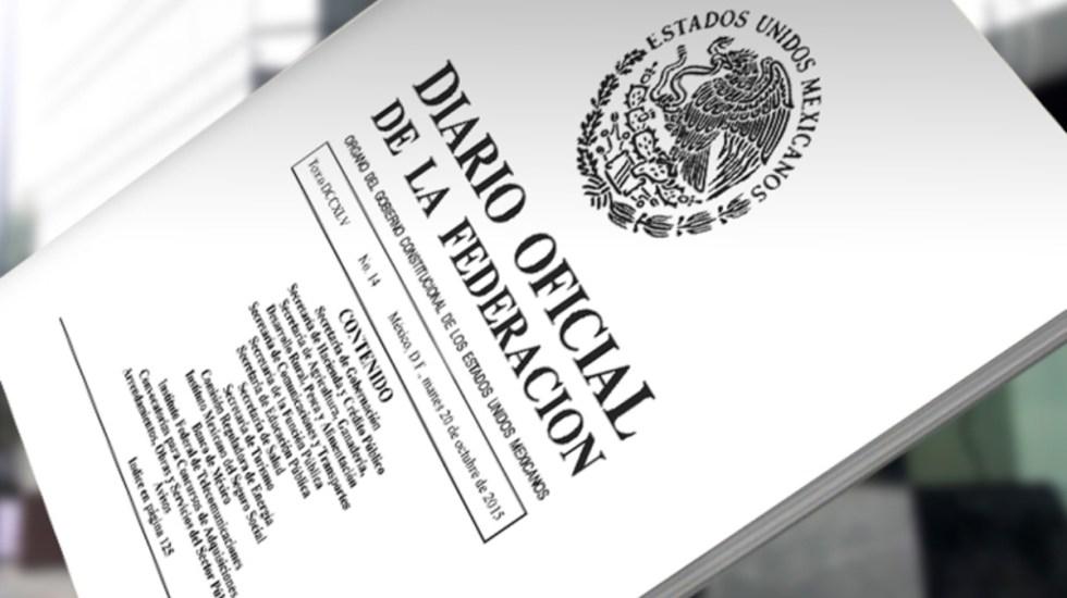 Diario Oficial publica cambios en el gobierno federal - Foto de Internet