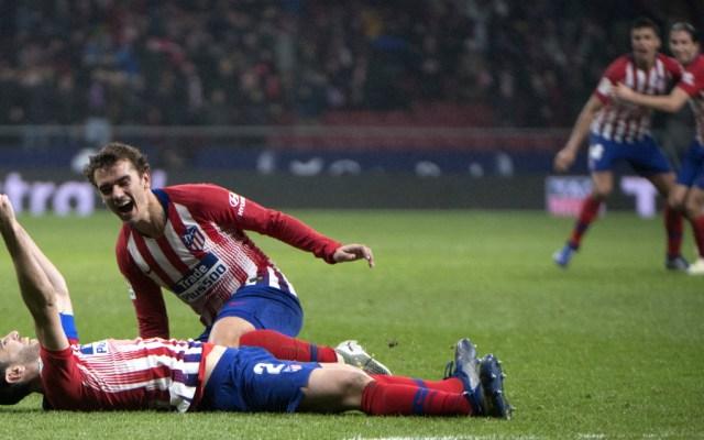 Godín da dramático triunfo a un Atlético que ya es segundo en La Liga - Foto de AFP