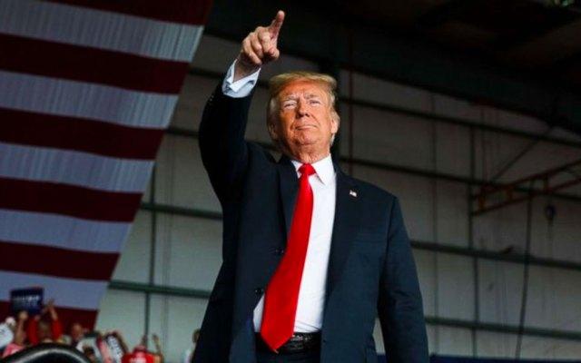 Detenciones de migrantes alcanzan récord durante mandato de Trump - Donald Trump. Foto de ABC News
